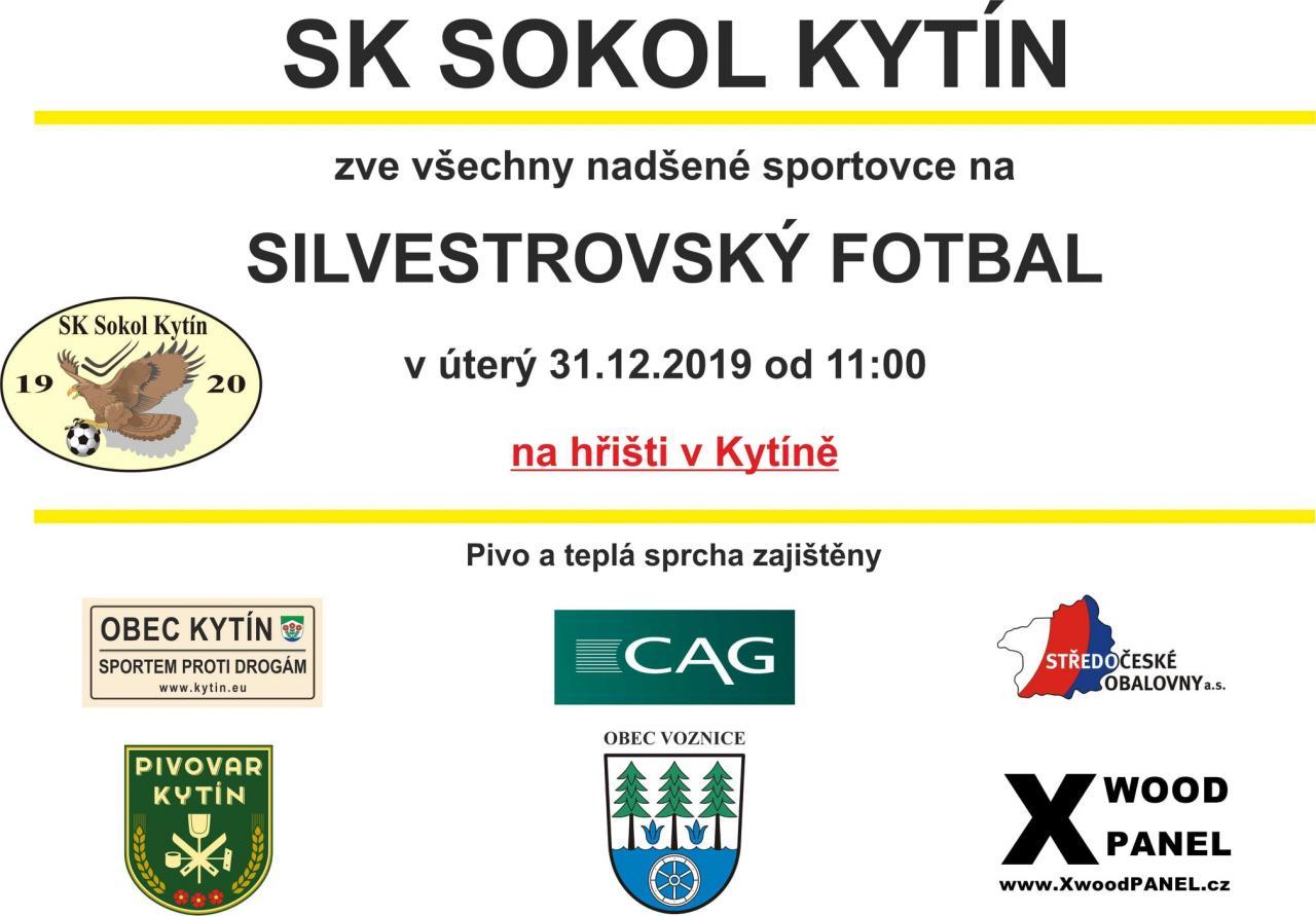 Silvestrovský fotbal v Kytíně