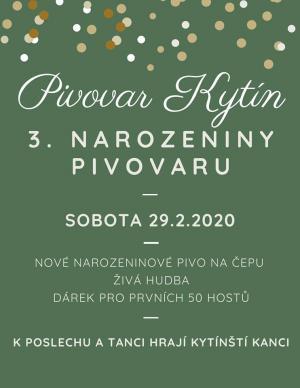 Výročí Pivovaru Kytín