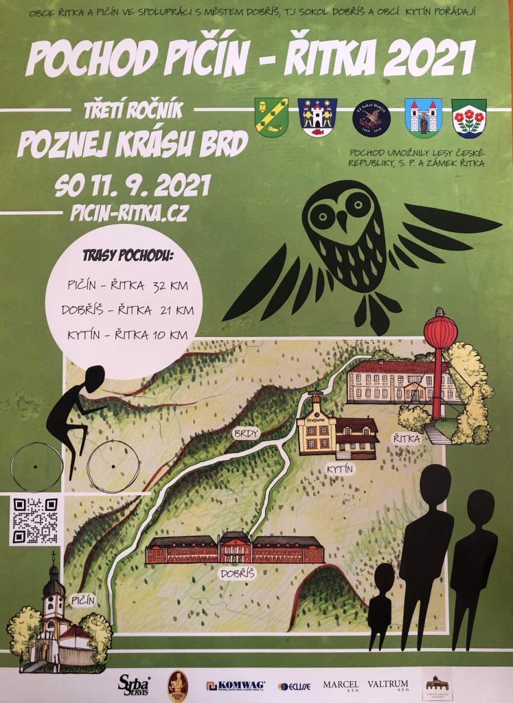 Pochod Pičín - Řitka 2021